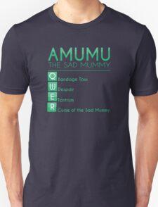 Champion Amumu Skill Set In Green T-Shirt