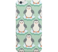 Baby Christmas - Winter Animal - Cute Penguin iPhone Case/Skin