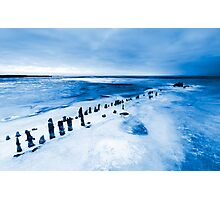 frozen lake Photographic Print