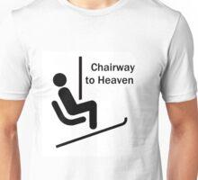 Skiing is Heaven Unisex T-Shirt