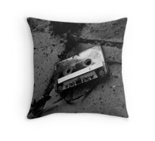 The lost tape Throw Pillow