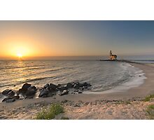 A lighthouse early in the morning Photographic Print