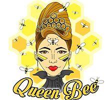 Queen Bee by rachfaceburrdog