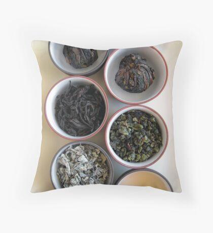 Chinese Tea Throw Pillow
