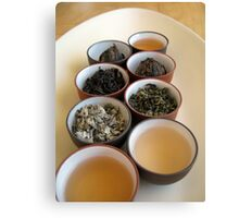 Chinese Tea Canvas Print