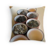 Chinese Tea Throw Pillow