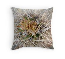 Cactus Thorns Throw Pillow