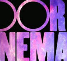 Two Door Cinema Club Galaxy Sticker