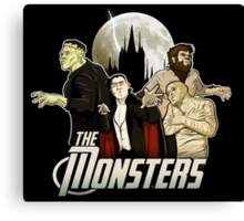 Monsters Assemble Canvas Print