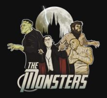 Monsters Assemble by Aaron Morales