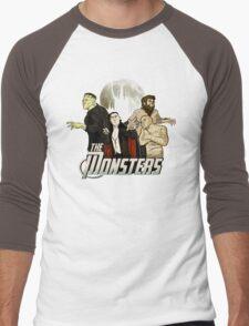 Monsters Assemble Men's Baseball ¾ T-Shirt