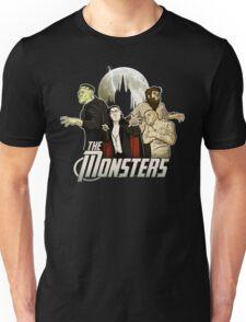 Monsters Assemble Unisex T-Shirt