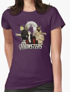 Monsters Assemble Womens Fitted T-Shirt
