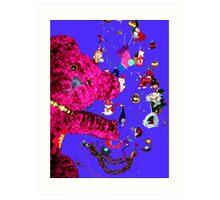 Little BBB -  Festive Dreams Art Print
