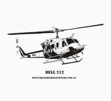Bell 212 Helicopter  by PrecisionHeli