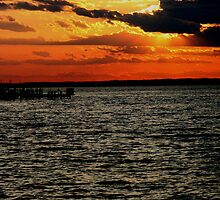 LBI SUNSET by LESLIE KING