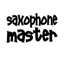 Saxophone Master Photographic Print