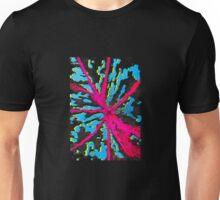 abstract leaf litho Unisex T-Shirt