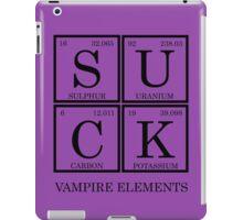 Suck-Vampire Elements iPad Case/Skin