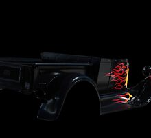 Black Ford Hot Rod Shadow by Ferenghi