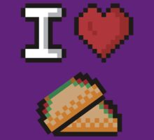 I Heart Tacos by The World Of Pootermobile