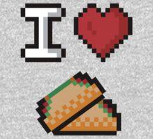 I Heart Tacos Kids Clothes