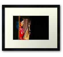 In The Moment (One) Framed Print