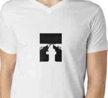 gravestone Mens V-Neck T-Shirt