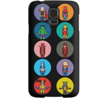 8Bit Marvel Characters Samsung Galaxy Case/Skin