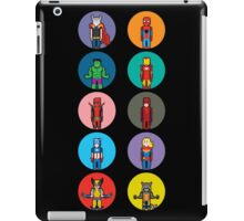 8Bit Marvel Characters iPad Case/Skin