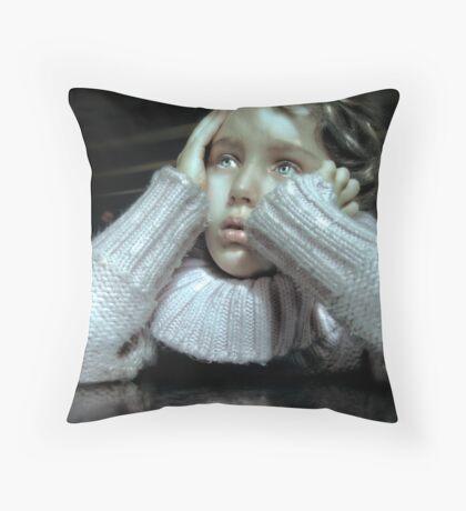 Anguish Throw Pillow