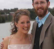 Yvette and Phil by Rebecca  Nicolandos