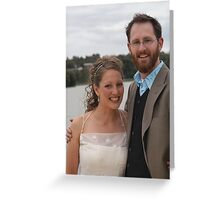 Yvette and Phil Greeting Card