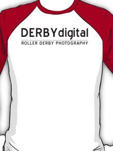 Derby Digital Logo - Black T-Shirt