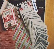 Poker Stillife by Margie Bates