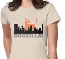 Dogzilla! Get down ya mongrel! Womens Fitted T-Shirt