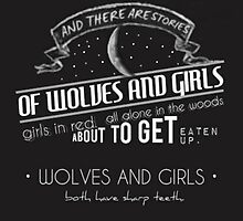 Wolves And Girls - Black Widow  by diyalives