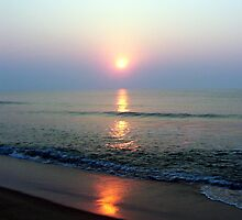 east coast sunrise by Betsy