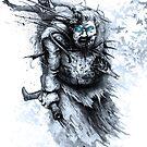 Bran Stark & Hodor by Austen Mengler