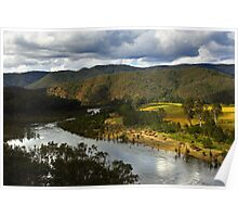 Mann River at Jackadgery Poster