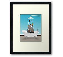 cool animals  Framed Print