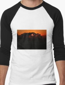 Dusk Men's Baseball ¾ T-Shirt