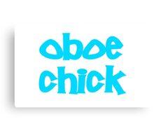 Oboe Chick Canvas Print