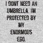 Protected by Ego by Parmas