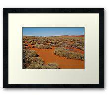Spinifex Valley, Madigan Line, Simpson Desert Framed Print