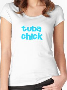 Tuba Chick Women's Fitted Scoop T-Shirt