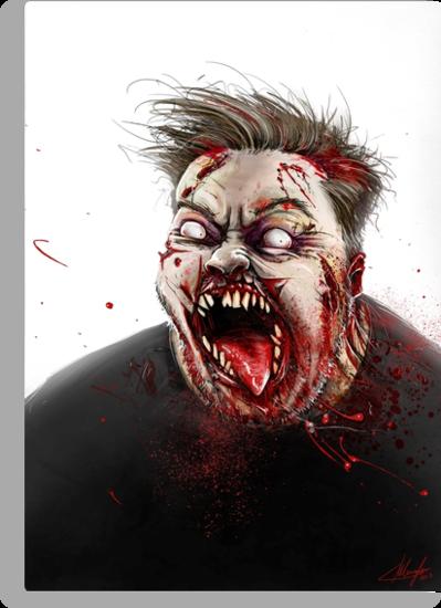 Ricky Gervais by Austen Mengler