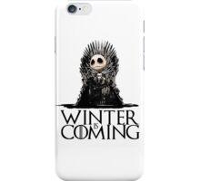 Jack Skellington - Winter is Coming iPhone Case/Skin