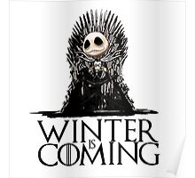 Jack Skellington - Winter is Coming Poster