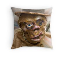 Happy Halloween (The colorized version) Throw Pillow